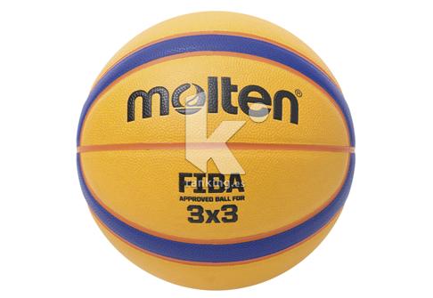 Balon Baloncesto Molten Libertia 3x3 Cuero sintetico FIBA APPROVED