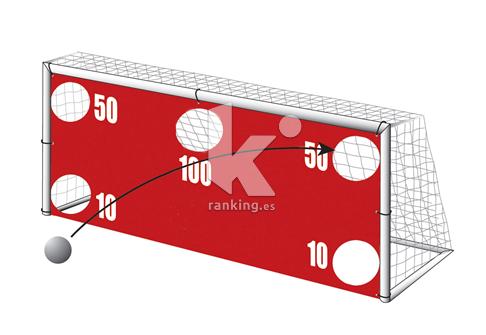 Pantalla de Precision para porteria Futbol 11