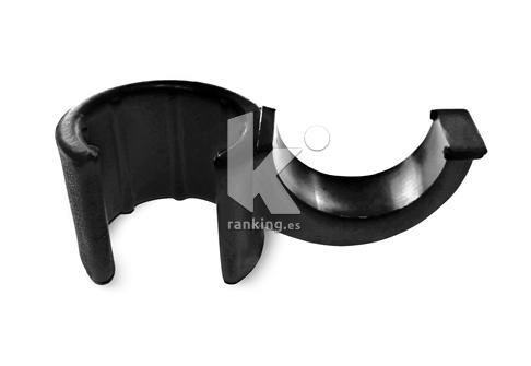 Clip de apoyo para picas Ø25mm. Bolsa de 6 uds