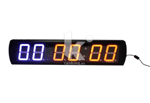 Reloj/Cronometro Fitness LED 6 dígitos