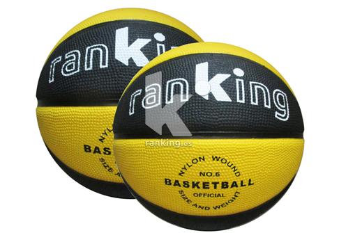 Balon Baloncesto Caucho Celular Bicolor AC04