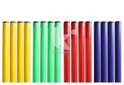 Pica PVC Ø25mm. Set 16 picas 4 x color
