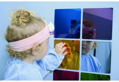 Espejo Cuadrados Set 6 colores.