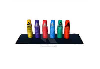 STACKING, Alfombrilla con funda.