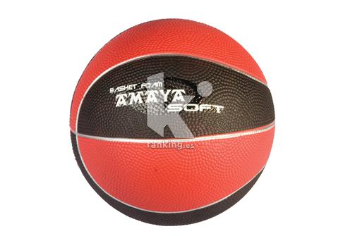 Balon Baloncesto FIRST PLAY Compact Foam T-5 Rojo