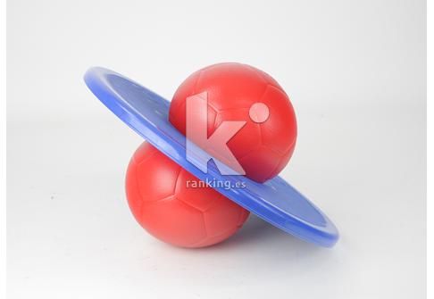 Skipiball, plataforma de equilibrio y salto.
