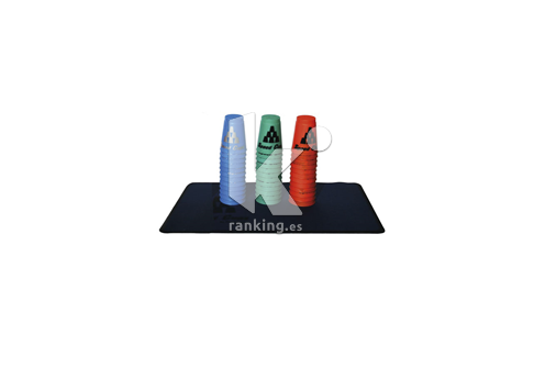 STACKING Quick Cups. Vasos de Apilar. Set 12 uds. AM90