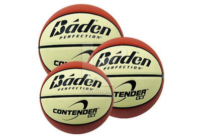 Balón Baloncesto Baden Cuero Sintético BD02