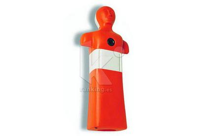 Maniqui Socorrismo, Plastico, Color naranja reglamentario