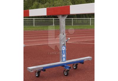 Soportes Transporte para vallas obstáculos. El par