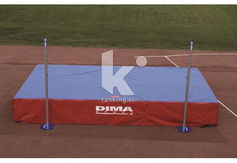 Zona de caida Salto de Altura DIMA INTERNACIONAL Monofunda IAAF 6,00x4,00 m
