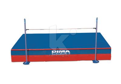 Zona de caida Salto de Altura DIMA INTERNACIONAL Monofunda Confort Plus IAAF 6,00x4,00 m