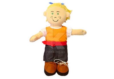 Muñeca abroches