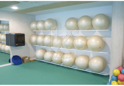Soporte de Pared. para 4-5 Balones Gigantes de 55 a 75cm.