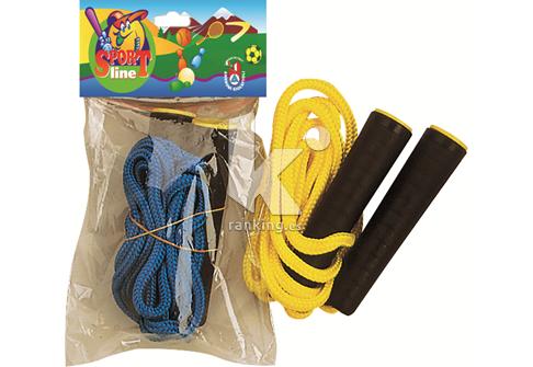 Cuerda polipropileno trenzado 2 m. Mangos de plástico