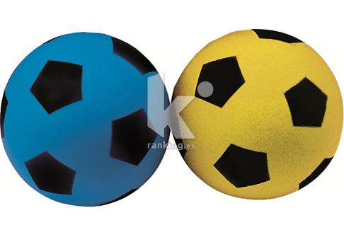 Balón Fútbol Espuma. KIDS FOAM piel fina 12 cm