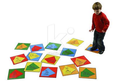 Juego Gigante Motricidad. Set 15 piezas