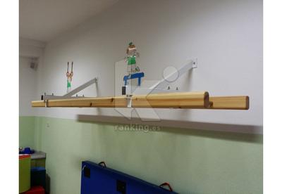Escalera DOMAN School ® Pared Soportes Fijos