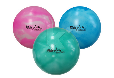 Pelota KIDS PLAY BIG BALL 380. Set 3 Uds. 1 x color