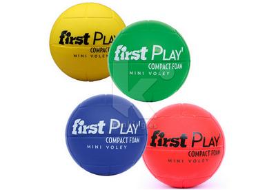 Balon Mini-Voleibol FIRST PLAY Compact Foam. Set 4 Uds. 1 x color