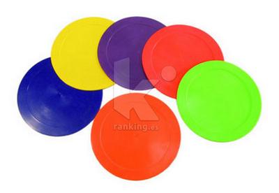 Marcas de suelo: Redondas, 22,5cm diametro- Set 6 uds.