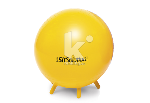 Balón SitSolution diám. 45cm. Amarilla