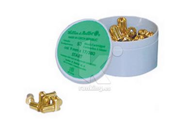 Munición fogueo 9 mm. caja 50 unidades
