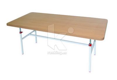 Mesa de Jueces 180 x 80 cm. Ajustable en altura