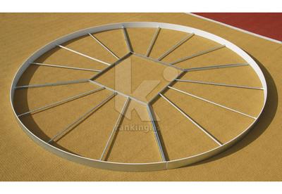 Circulo de peso/martillo, 2135mm. POLANIK. Acero Galvanizado reforzado. IAAF
