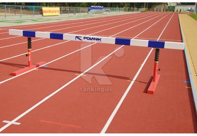 Valla obstáculos 5 m, altura ajustable 762 y 914mm. IAAF - POLANIK