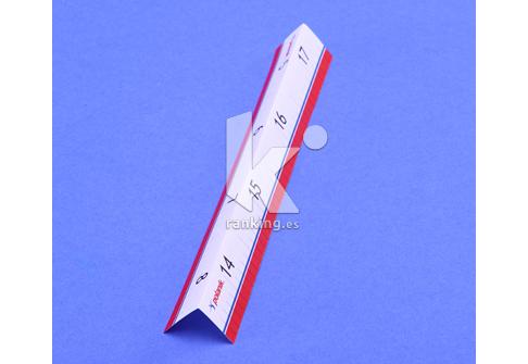 Indicador de referencia en distancia de Salto de Longitud y Triple POLANIK.