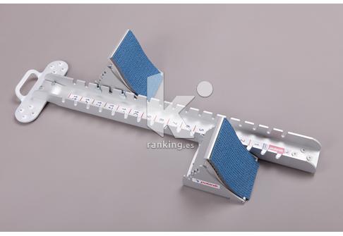 Taco de Salida Aluminio Apoyo ancho Competición IAAF POLANIK