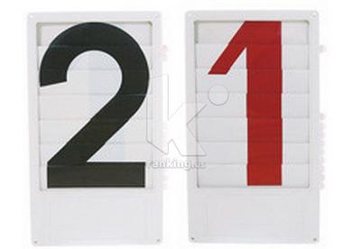 Dígito Número Persiana PK06