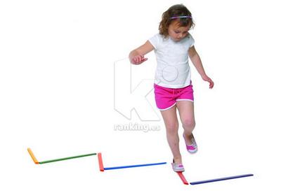 Marcas de carrera y salto. Set 12 Unidades + 8 Fichas actividades