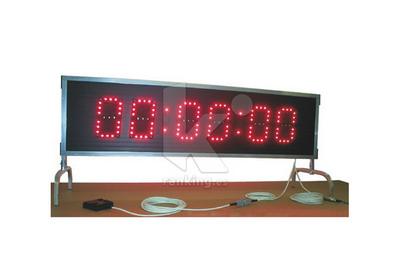 Marcador-Cronómetro MARATHON Basic 2 caras. 130 x 33 x 5 cm.