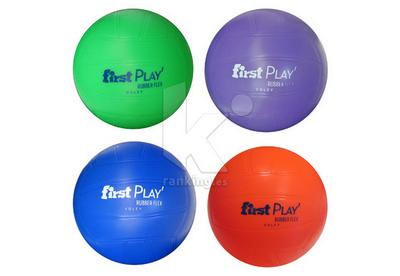 Balón Voley FIRST PLAY Rubber Flex, Set 4 Uds.  1 x color