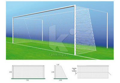 Red F11 PPM S/N 4 mm. M50 1.20x2,50 Juego 2 uds.