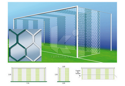 Red F11 PPM S/N 4 mm. M50 Hexagonal 2x2 Juego 2 uds. Bicolor