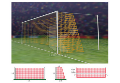 Red F11 PPM S/N 4 mm. M50 1x2,10 Juego 2 uds.