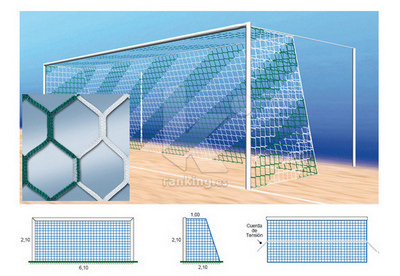 Red F7 PPM S/N 4 mm. M120 Hexagonal 1x2,10 Juego 2 uds. Bicolor