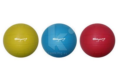 Balon Mini-Voley  NICE GAME Soft - Set 6 Uds. 2 x color