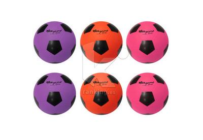 Balon Futbol NICE GAME High Soft - Talla 4, Set 6 Uds.  2 x color