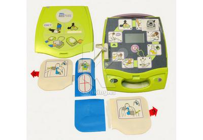 Desfibrilador AED + Plus - Electrodos