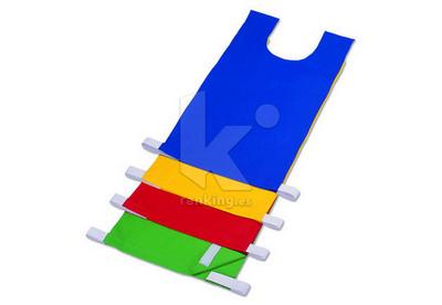 Peto Velcro Abierto para Dorsales 4 colores
