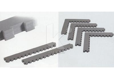Kit 2 laterales rectos de 0,5 m. para Tatami Profesional KARATE/TAEKWONDO